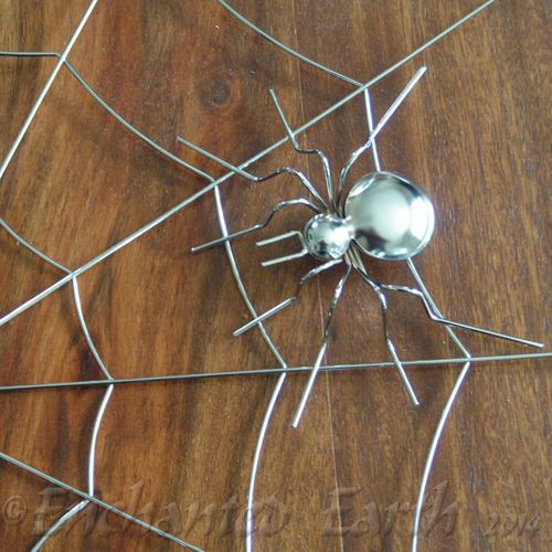 Large Metal Spiders Web